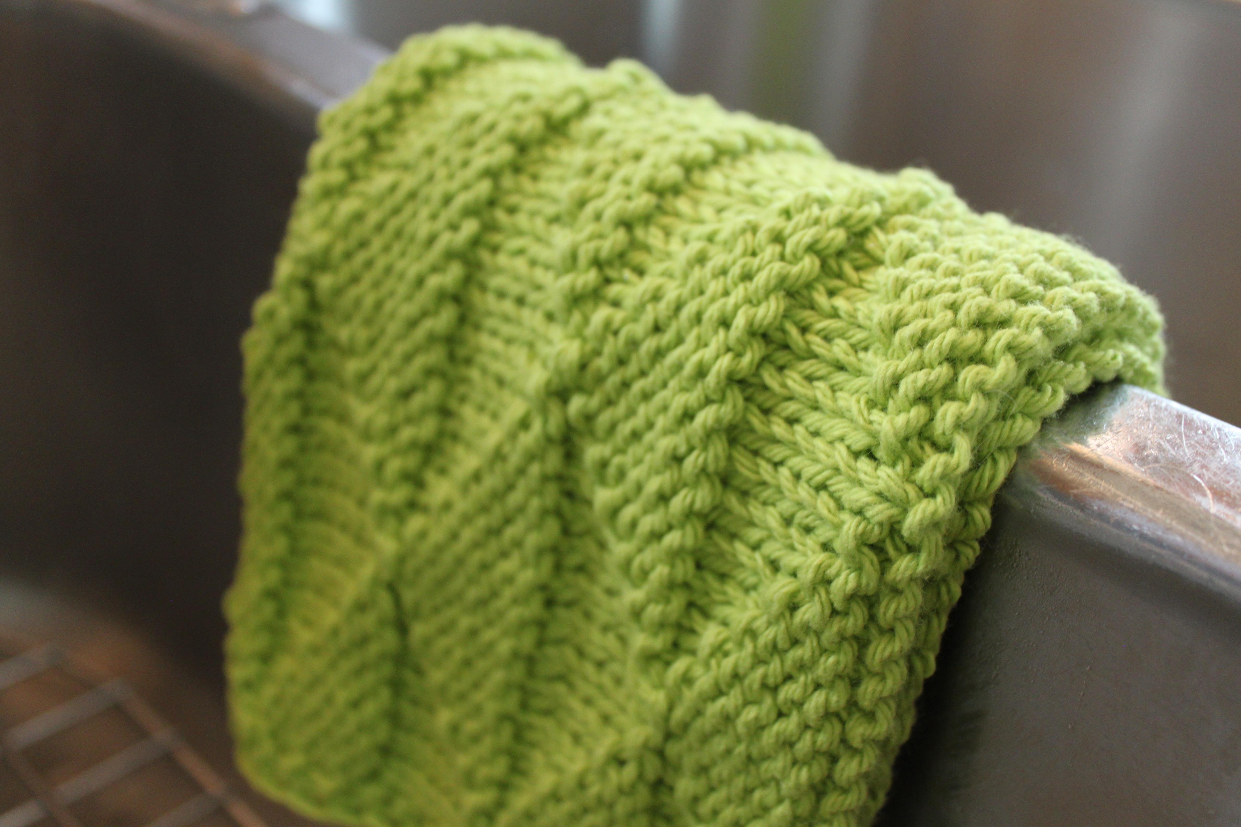 Bernat Knitting Pattern Abbreviations : Isosceles Dishcloth - Leah Michelle Designs